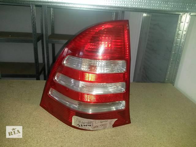 Б/у фонарь стоп для легкового авто Mercedes C-Class- объявление о продаже  в Луцке