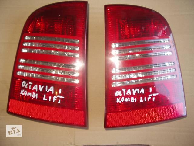 купить бу Б/у Фонарь задний Skoda Octavia Combi Lift , правый и левый , хорошее состояние , доставка по всей Украине . в Тернополе