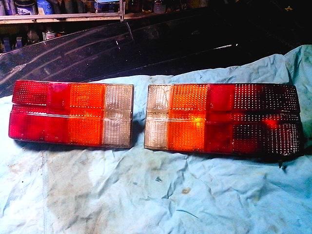 бу Б/у фонари задние для хэтчбека Mazda 323 FA4 в Одессе