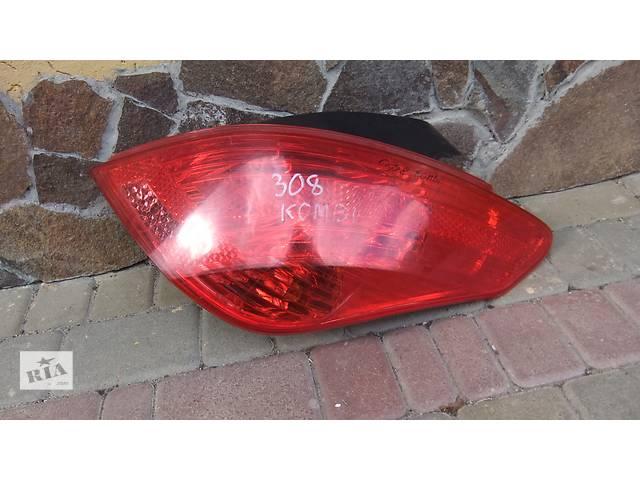 бу Б/у фонарь задний для хэтчбека Peugeot 308 в Луцке