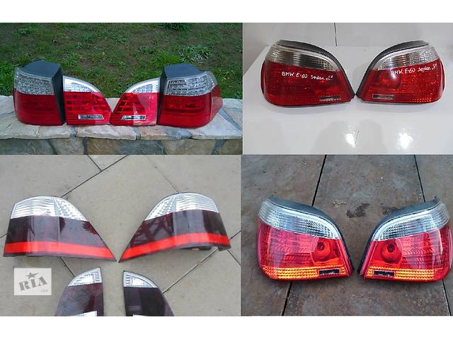 Б/у фонарь задний для легкового авто BMW 5 Series e60 e61- объявление о продаже  в Львове
