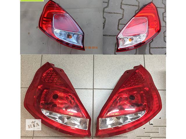 Б/у фонарь задний для легкового авто Ford Fiesta mk7- объявление о продаже  в Львове