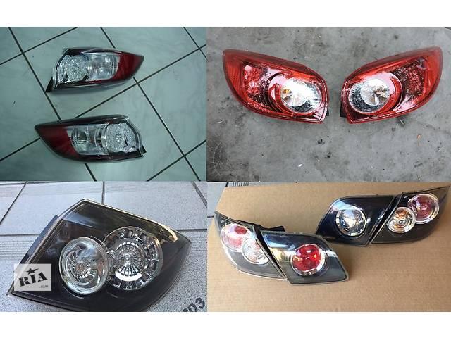 продам Б/у фонарь задний для легкового авто Mazda 3 бу в Львове