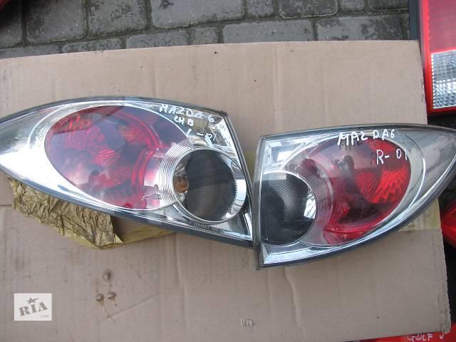 продам Б/у ліхтар задній для легкового авто Mazda 6 бу в Яворове (Львовской обл.)