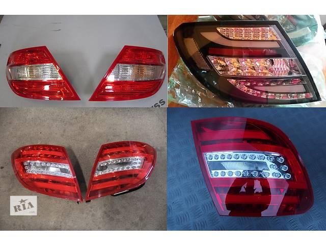 продам Б/у фонарь задний для легкового авто Mercedes C-Class w204 07-14  бу в Львове