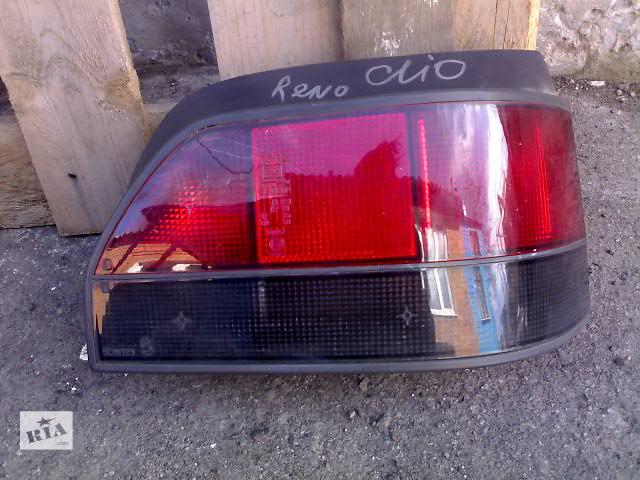 Б/у фонарь задний для легкового авто Renault Clio- объявление о продаже  в Сумах