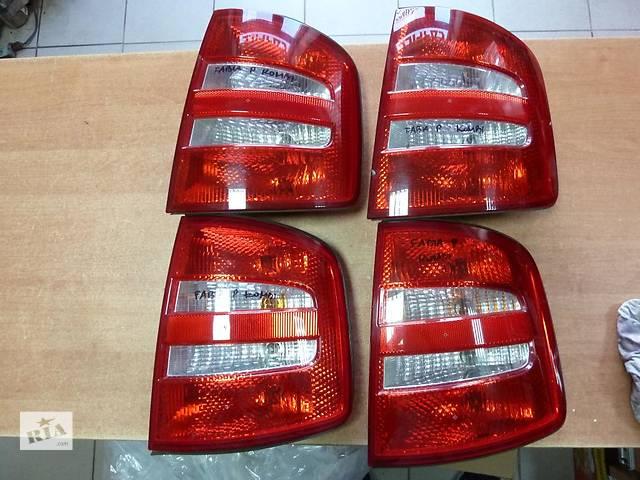 Б/у фонарь задний для легкового авто Skoda Fabia- объявление о продаже  в Львове