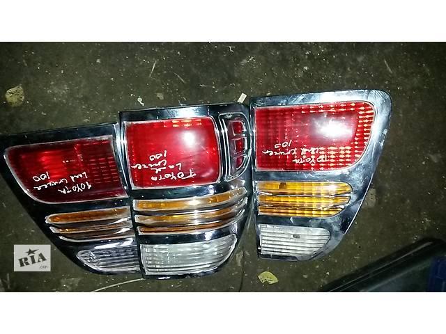 купить бу Б/у фонарь задний для легкового авто Toyota Land Cruiser 100 в Бучаче