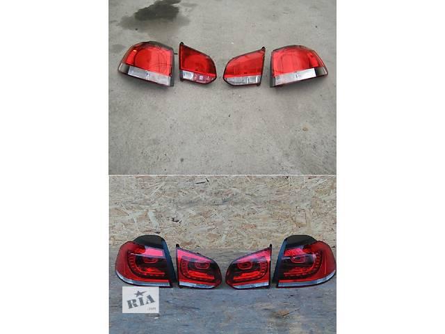Б/у фонарь задний для легкового авто Volkswagen Golf VI- объявление о продаже  в Львове