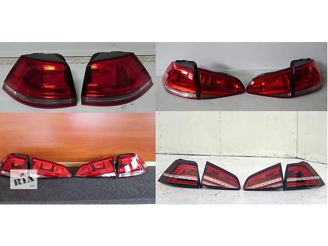 продам Б/у фонарь задний для легкового авто Volkswagen Golf VII бу в Львове
