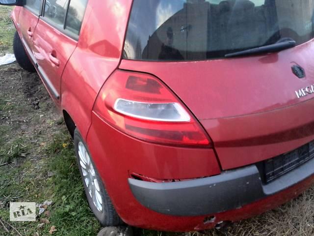 купить бу Б/у фонарь задний левый для хэтчбека Renault Megane Hatchback 5D 2006г в Киеве