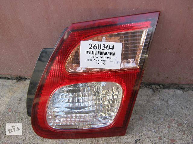 бу Б/у фонарь задний правый для седана Nissan Almera 2006 в Шепетовке