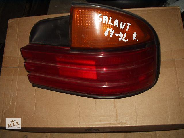 б.у Ліхтар  правий Mitsubishi Galant Хетчбек , 1987-92 р. в ( є лівий ) , Stenley , хороший стан , доставка .- объявление о продаже  в Тернополе