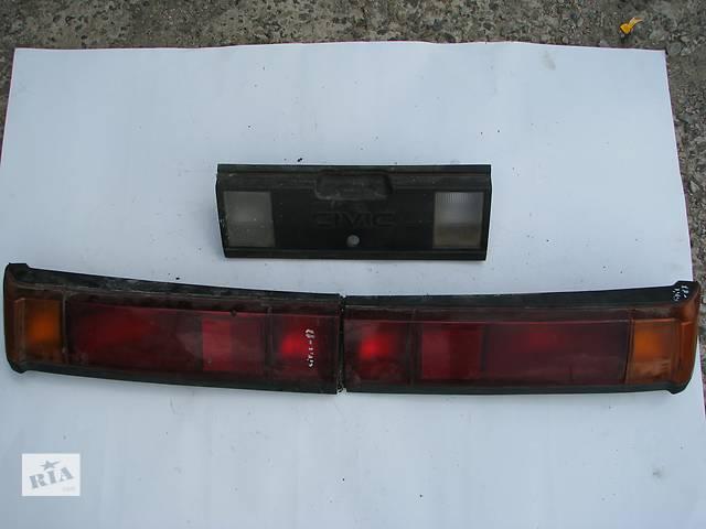 купить бу Б/у фонари задние правый и средний Honda Civic 1987 в Броварах