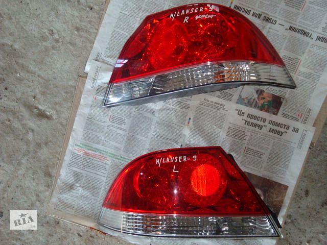 купить бу Б/у фонари заднии Л+П  Mitsubishi Lancer 2007 в Львове