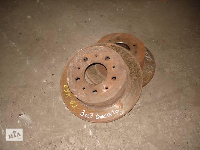 бу Б/у гальмівний диск (задній) Fiat Ducato, Citroen Jumper, Pegeout Boxer в Залещиках