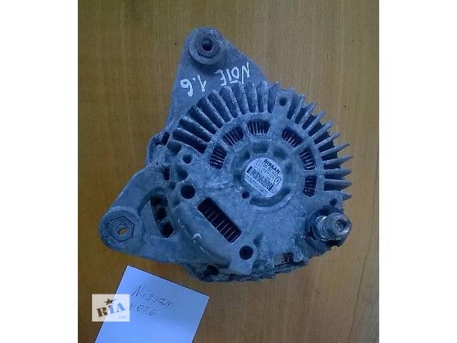 купить бу Б/у генератор 23100BC400 для хэтчбека Nissan Note v1,6 2006г в Николаеве