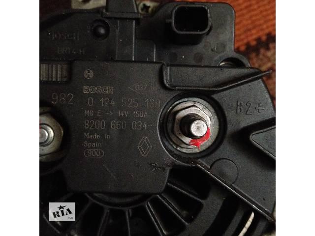 бу Б/у генератор для легкового авто Renault Trafic(мастер) 1.9-2.5DCI (150А) в Ковеле