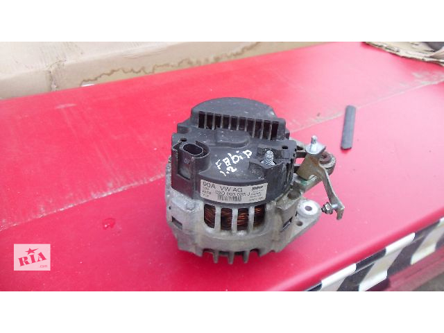 продам Б/у генератор для легкового авто Skoda Fabia 2007 1.2 бензин бу в Коломые