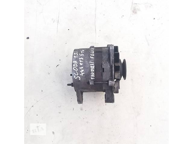 купить бу Б/у генератор для Skoda Favorit 1.3 i в Ковеле