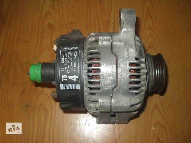 продам Б/у Генератор HondaCivic 5 , 14 V / 75 A производитель Bosch / Germani , рабочее состояние , гарантия , доставка . бу в Тернополе