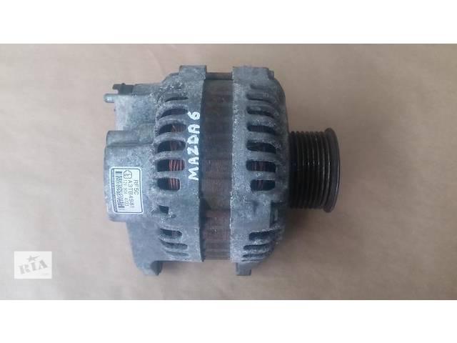 купить бу Б/у генератор Mazda 6 2.0 бенз. GG 02-08 в Ровно