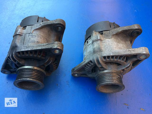 купить бу Б/у генератор/щетки для легкового авто Fiat Brava 63321611 (1.4 12V 1996-2003) в Луцке