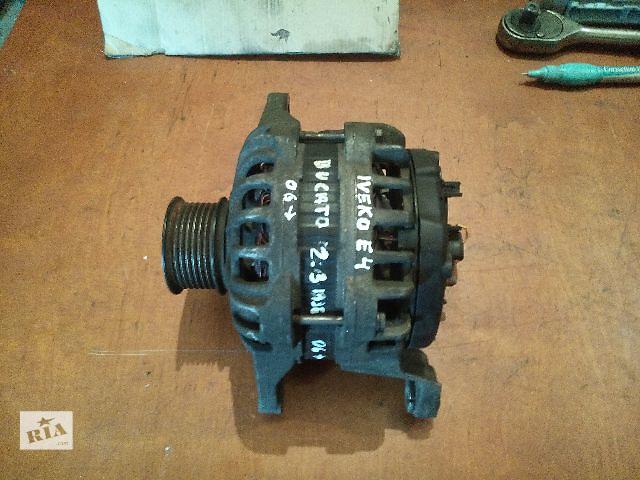 Б/у генератор/щетки для легкового авто Fiat Ducato (250) после 2006 года 2.3mjet- объявление о продаже  в Ковеле