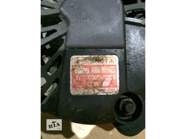 продам Б/у генератор/щетки для легкового авто Hyundai Accent бу в Клевани