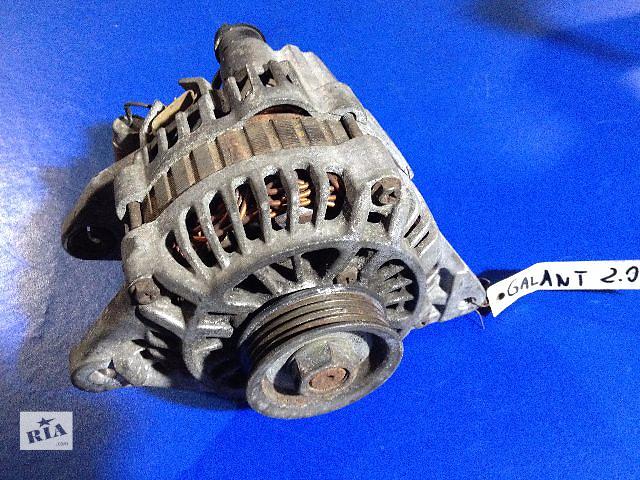 продам Б/у генератор/щетки для легкового авто Mitsubishi Galant 2.0 1996-2000  бу в Луцке