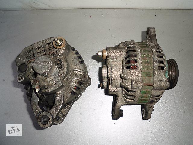 купить бу Б/у генератор/щетки для легкового авто Mitsubishi Galant 2.0-2.4 1984-1990 65A. в Буче (Киевской обл.)