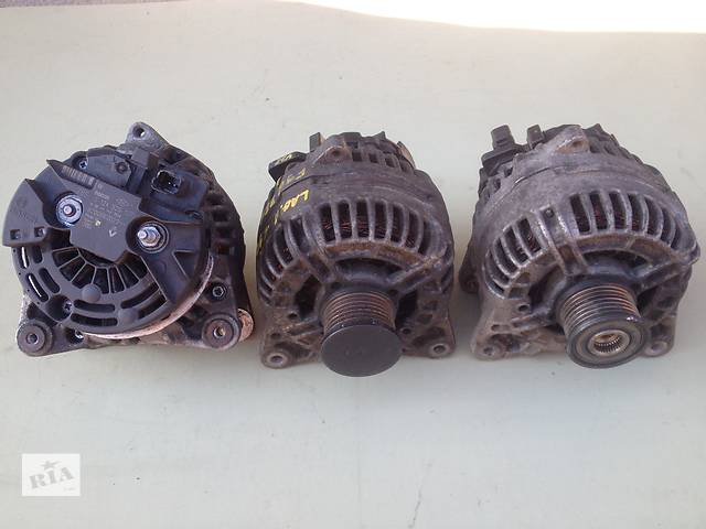 купить бу Б/у генератор/щетки для легкового авто Renault Laguna II 1.9, 2.2, 2.5  дизель в Луцке