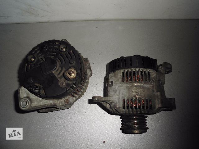 продам Б/у генератор/щетки для легкового авто Renault Scenic 1.9DCi,DTi,2.0B 1999-2003 с огонной муфтой 120A. бу в Буче (Киевской обл.)