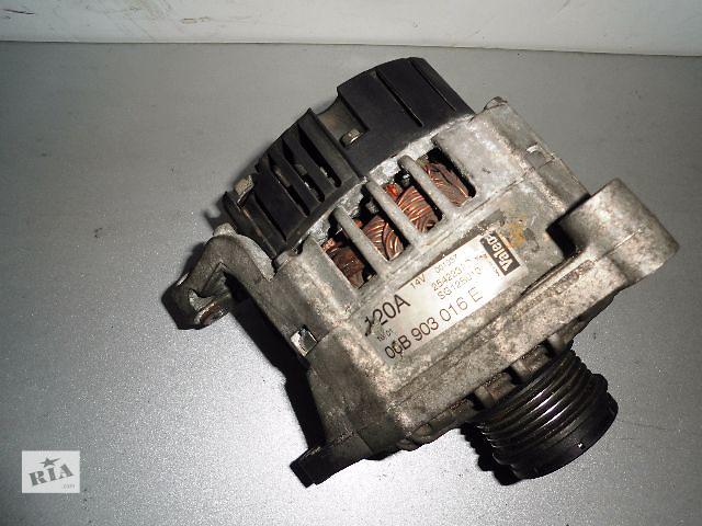 купить бу Б/у генератор/щетки для легкового авто Volkswagen Passat 1.8TSi,1.8T,1.6,2.8,2.0 1996-2010 120A с обгонной муфтой. в Буче