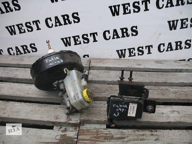 купить бу Б/у главный тормозной цилиндр для легкового авто Skoda Fabia 2004 в Луцке