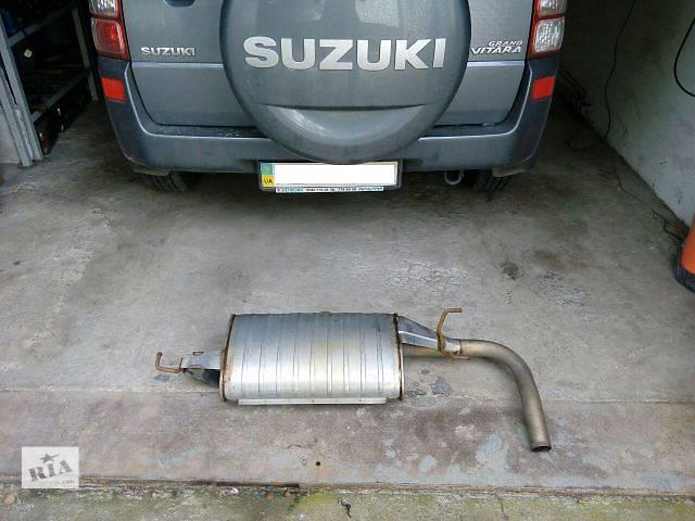 купить бу Б/у глушитель для кроссовера Suzuki Grand Vitara в Днепре (Днепропетровске)