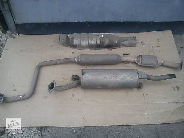 продам Б/у глушитель для легкового авто Geely MK бу в Полтаве