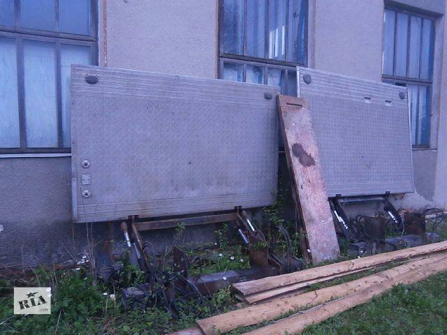 купить бу Б/у гидроборт для грузовика MAN 10.150 2004 в Бучаче