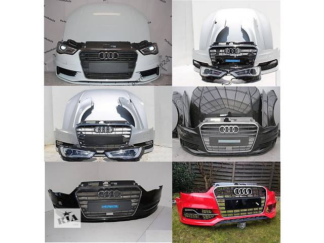 бу Б/у капот для легкового авто Audi A3 8v 12- в Львове
