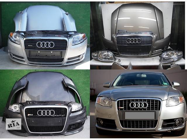 купить бу Б/у капот для легкового авто Audi A4 B7 04-08 в Львове