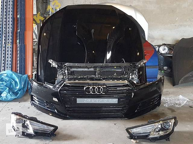 продам Б/у капот для легкового авто Audi A4 B9 бу в Львове