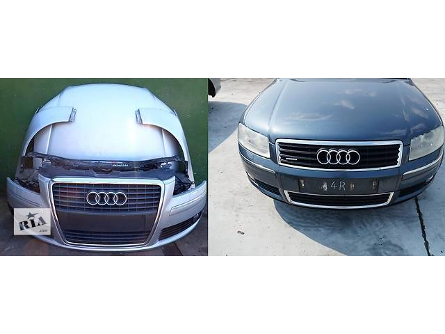 купить бу Б/у капот для легкового авто Audi A8  d3 в Львове