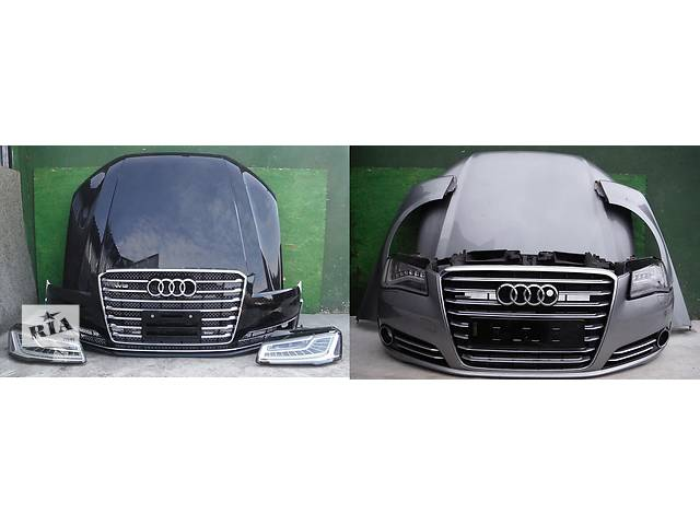 продам Б/у капот для легкового авто Audi A8 d4 бу в Львове