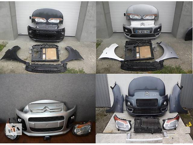Б/у капот для легкового авто Citroen C3 Picasso- объявление о продаже  в Львове