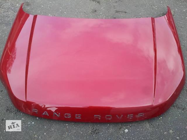 купить бу Б/у капот для легкового авто Land Rover Range Rover Evoque в Львове