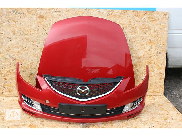 продам Б/у капот для легкового авто Mazda 6 бу в Львове