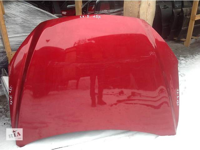 купить бу Б/у капот для легкового авто Mazda CX-5 в Ровно