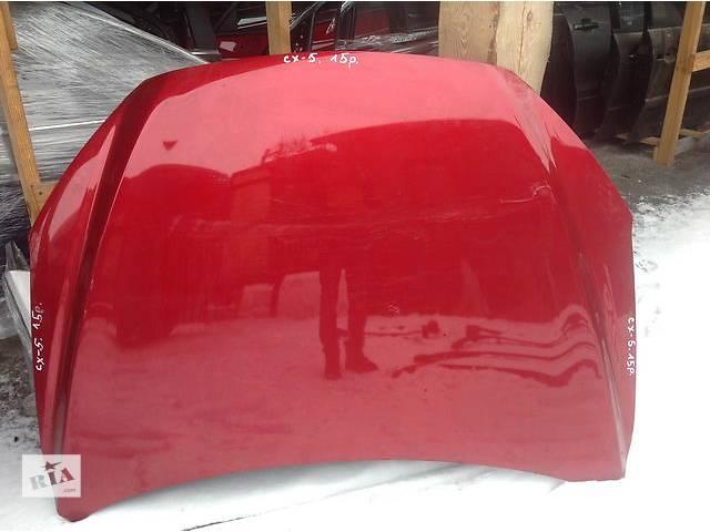 продам Б/у капот для легкового авто Mazda CX-5 бу в Ровно