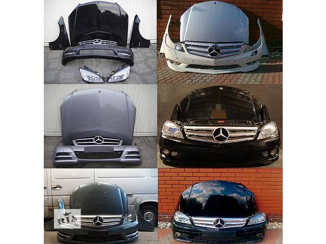бу Б/у капот для легкового авто Mercedes C-Class w204 07-14 в Львове