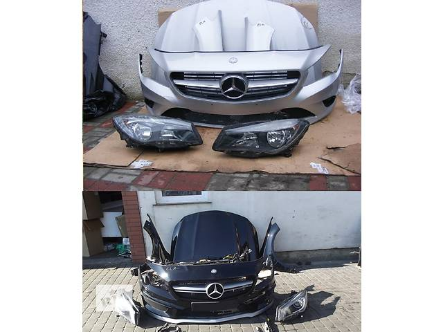 продам Б/у капот для легкового авто Mercedes CLA-Class w117 бу в Львове